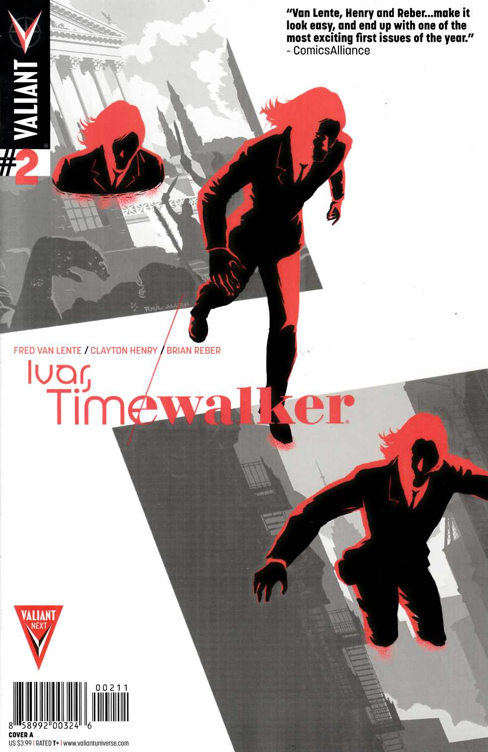 Ivar Timewalker #2 Cover A- Allen [Valiant Comic]
