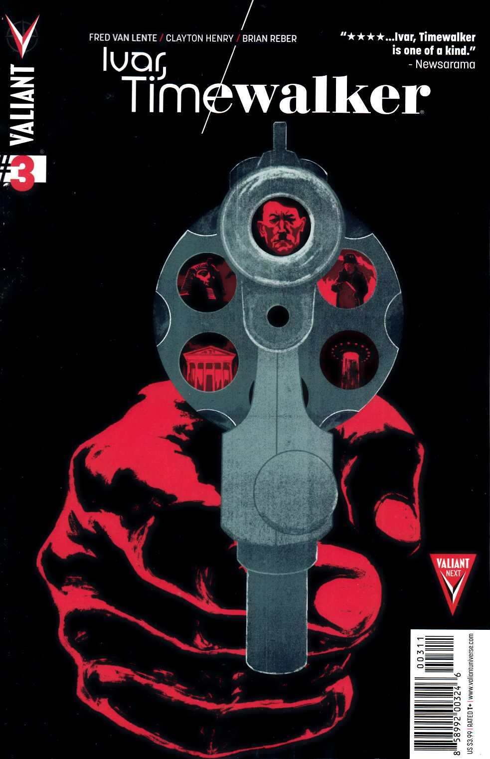 Ivar Timewalker #3 Cover A- Allen [Valiant Comic]