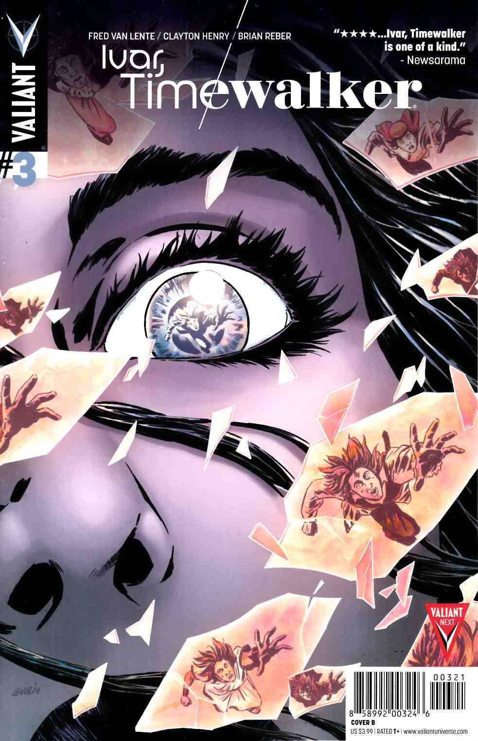 Ivar Timewalker #3 Cover B- Level [Valiant Comic] THUMBNAIL