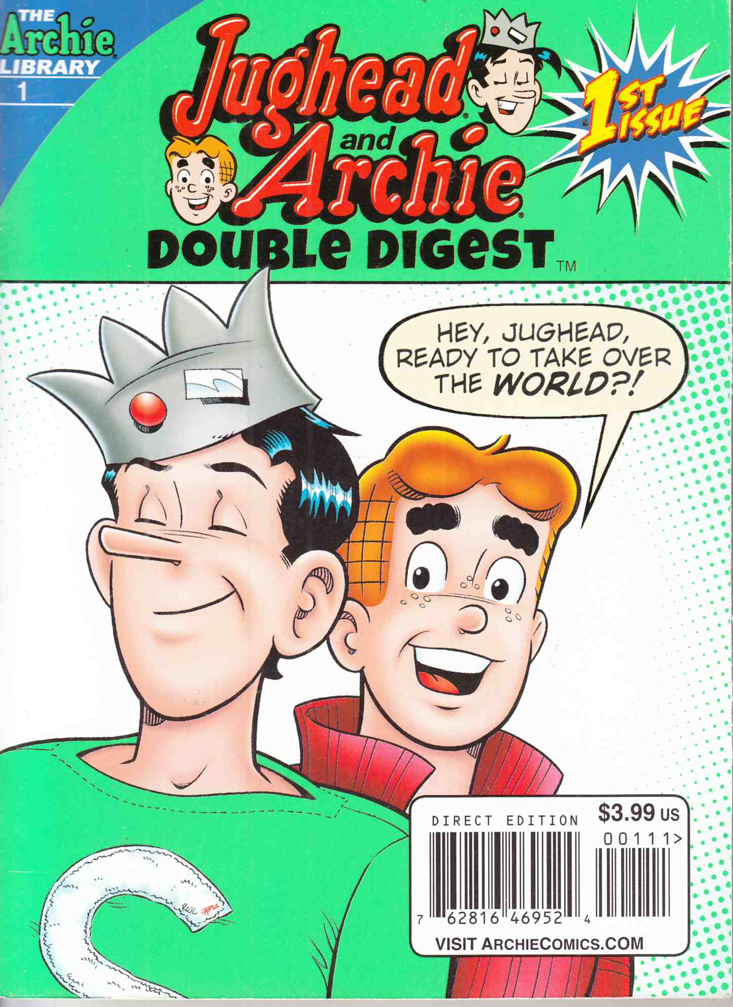 Jughead & Archie Double Digest #1 Near Mint Minus (9.2) [Archie Comic] THUMBNAIL