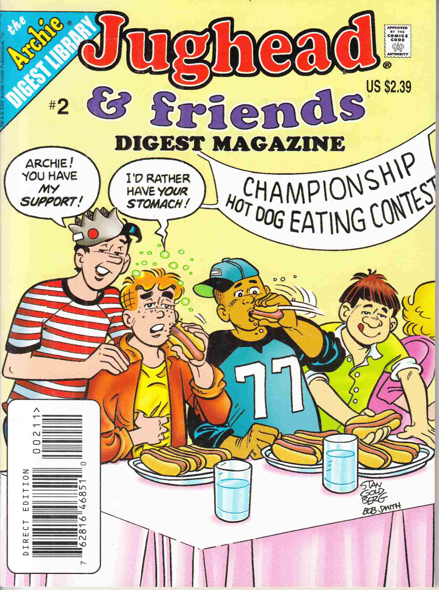Jughead and Friends Digest #2 Near Mint (9.4) [Archie Comic] THUMBNAIL