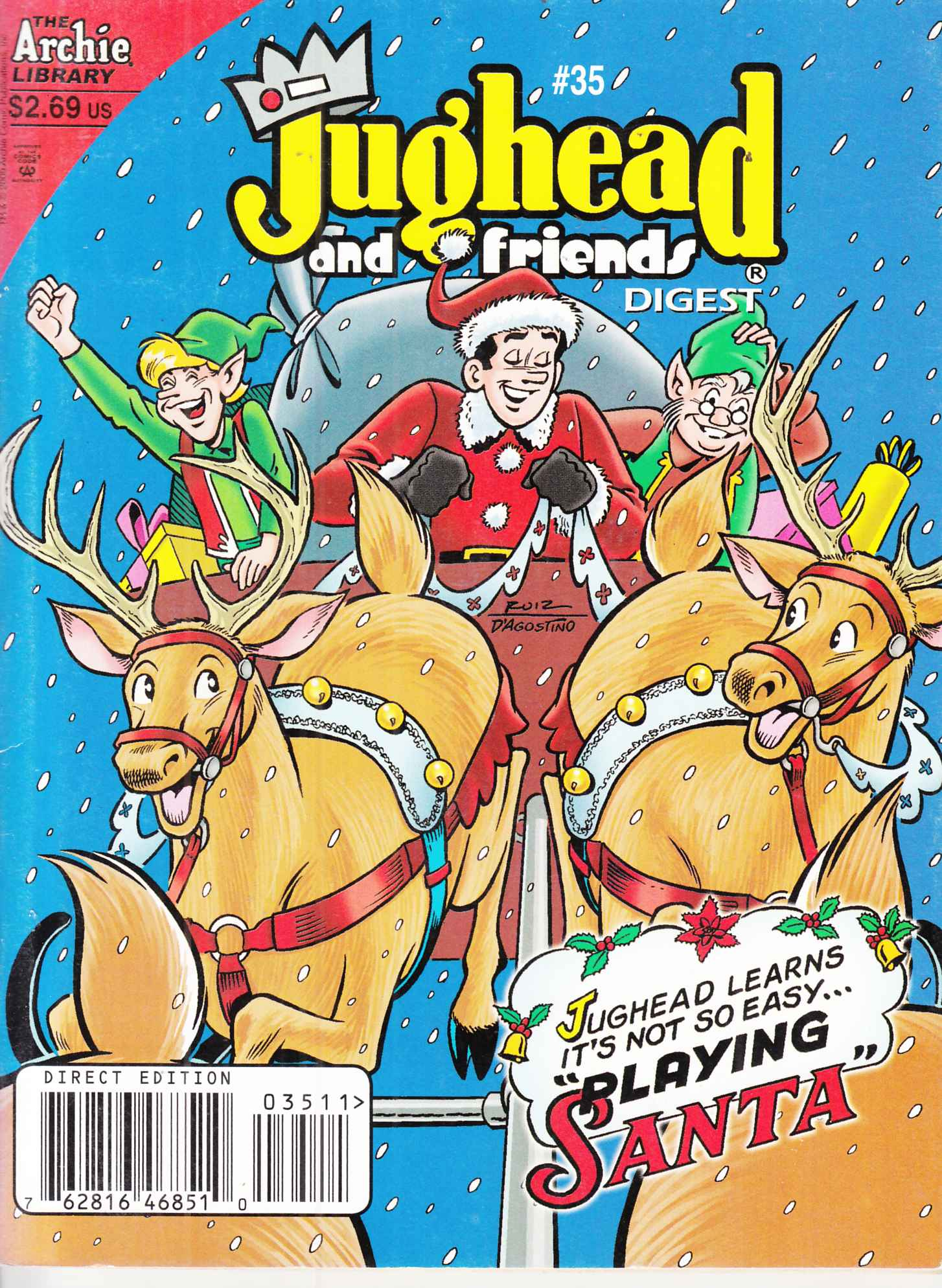 Jughead and Friends Digest #35 Very Fine (8.00) [Archie Comic] THUMBNAIL