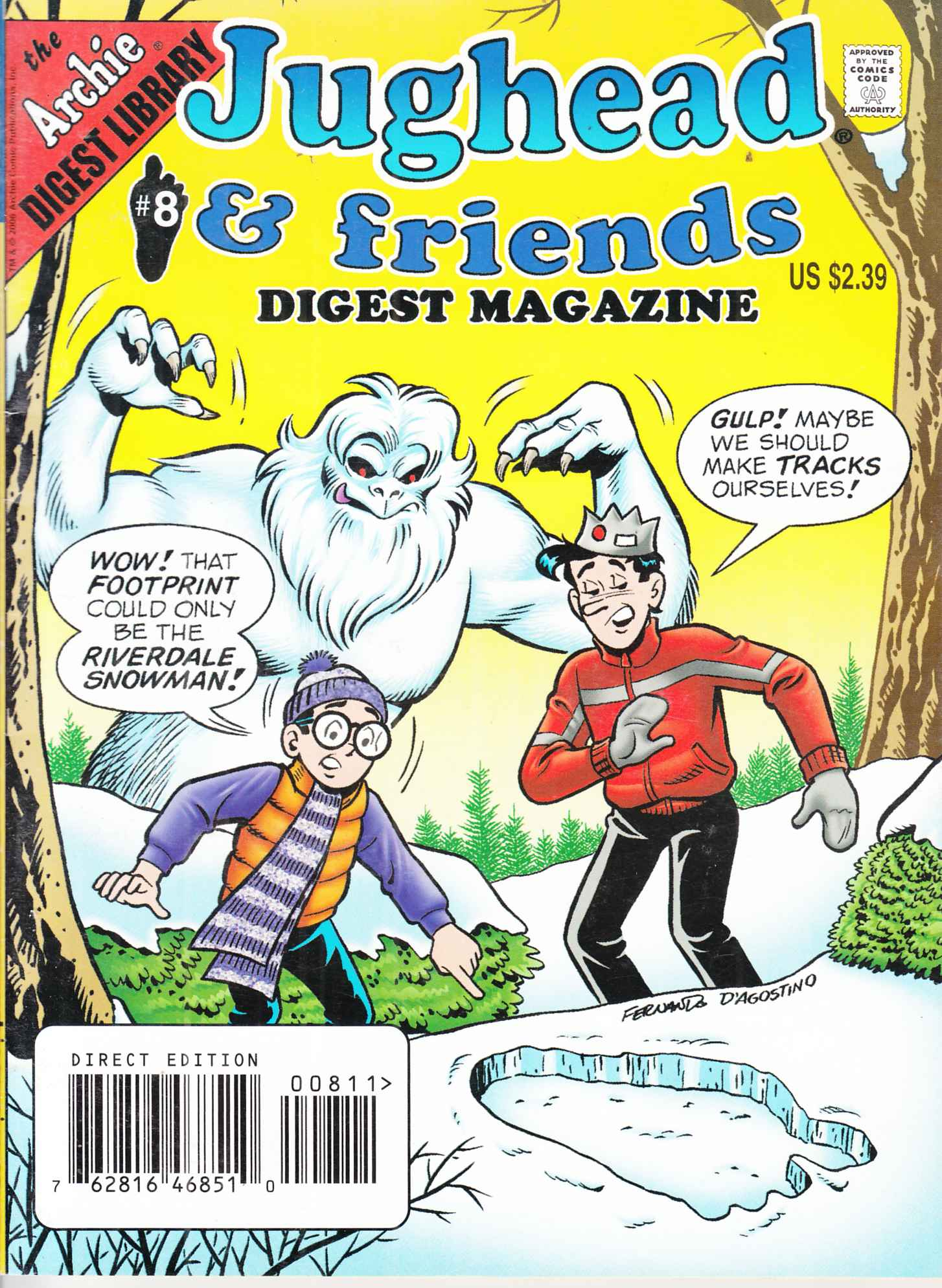 Jughead and Friends Digest #8 Fine (6.0) [Archie Comic] THUMBNAIL