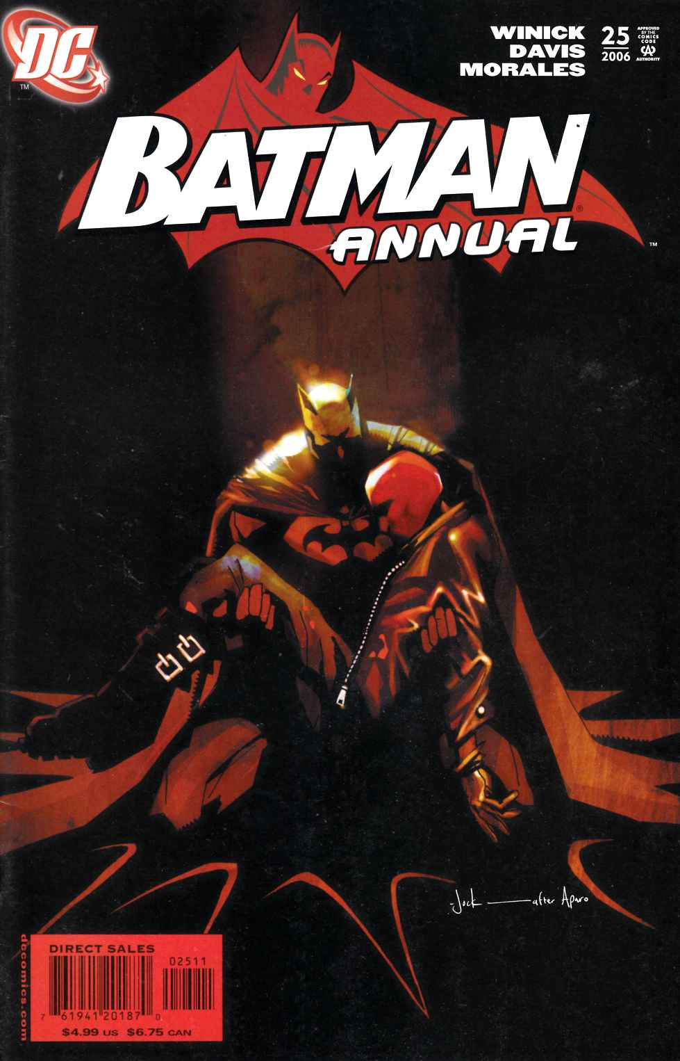 Batman Annual #25 Very Fine (8.0) [DC Comic]_LARGE