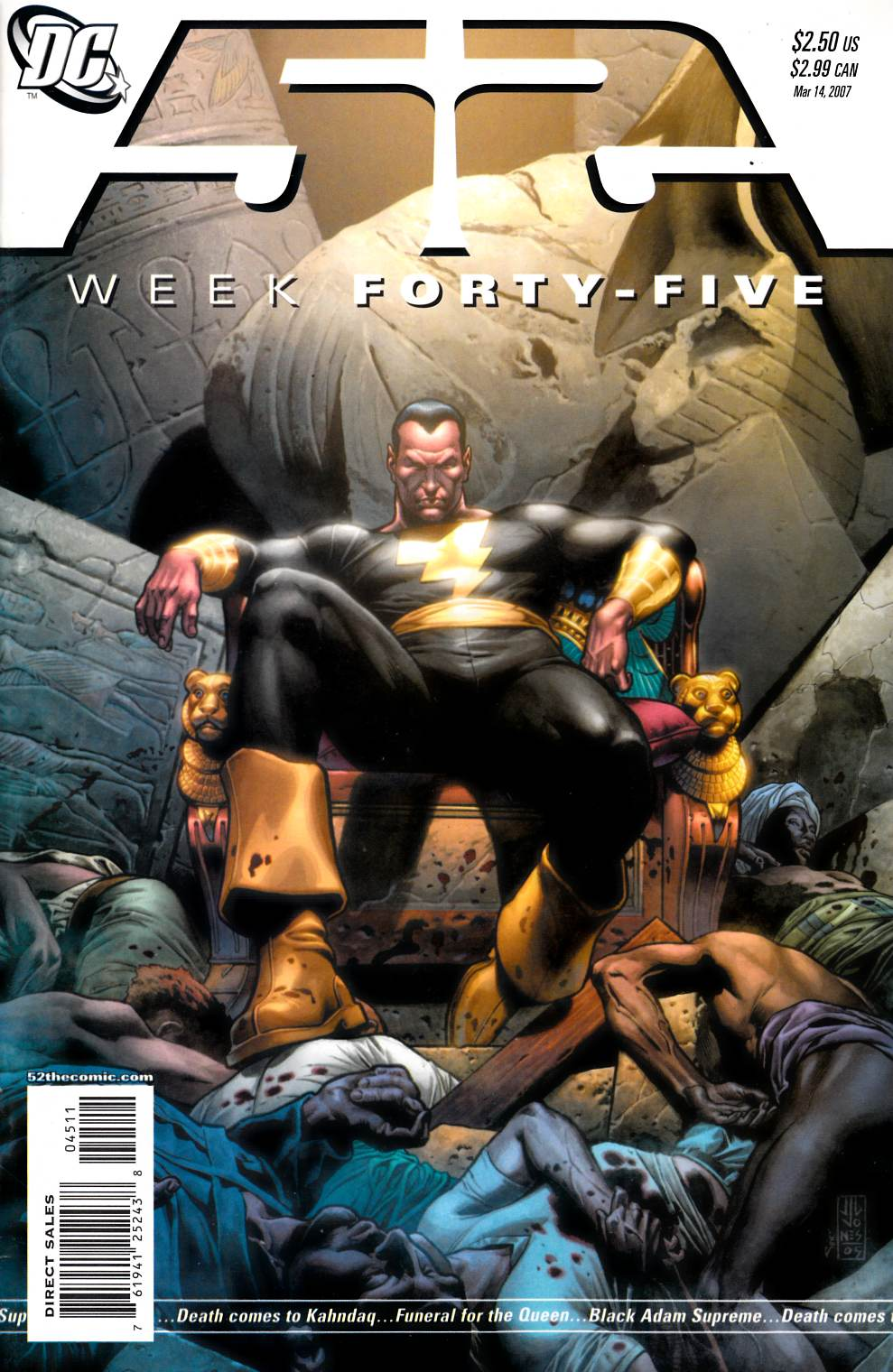 52 Week #45 Near Mint Minus (9.2) [DC Comic] THUMBNAIL