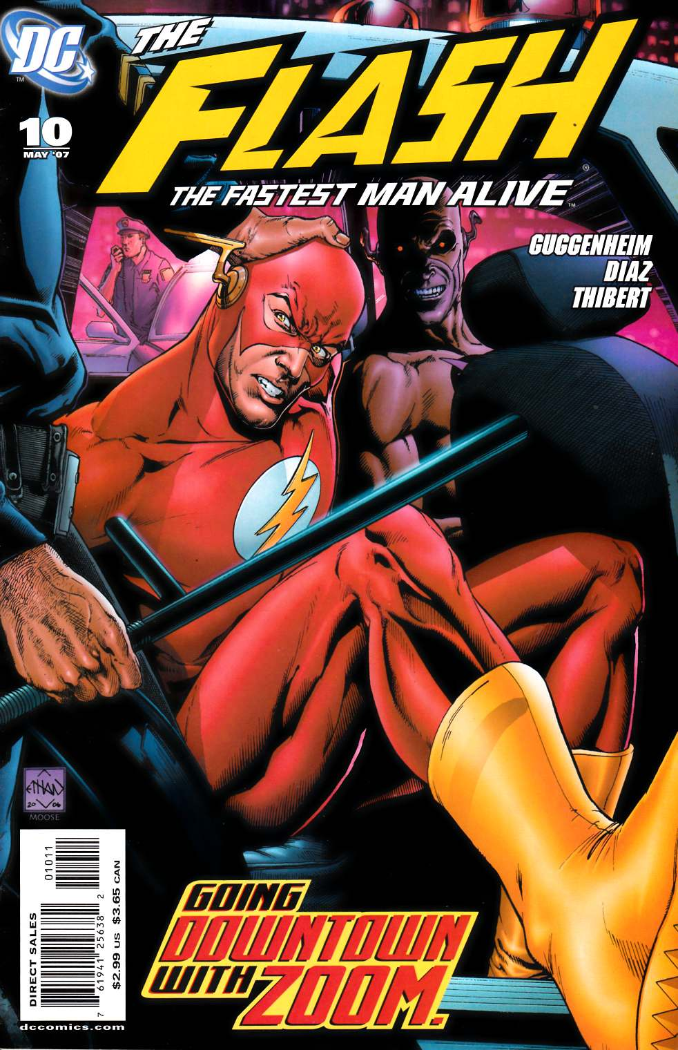 Flash the Fastest Man Alive #10 Very Fine Plus (8.5) [DC Comic]_THUMBNAIL