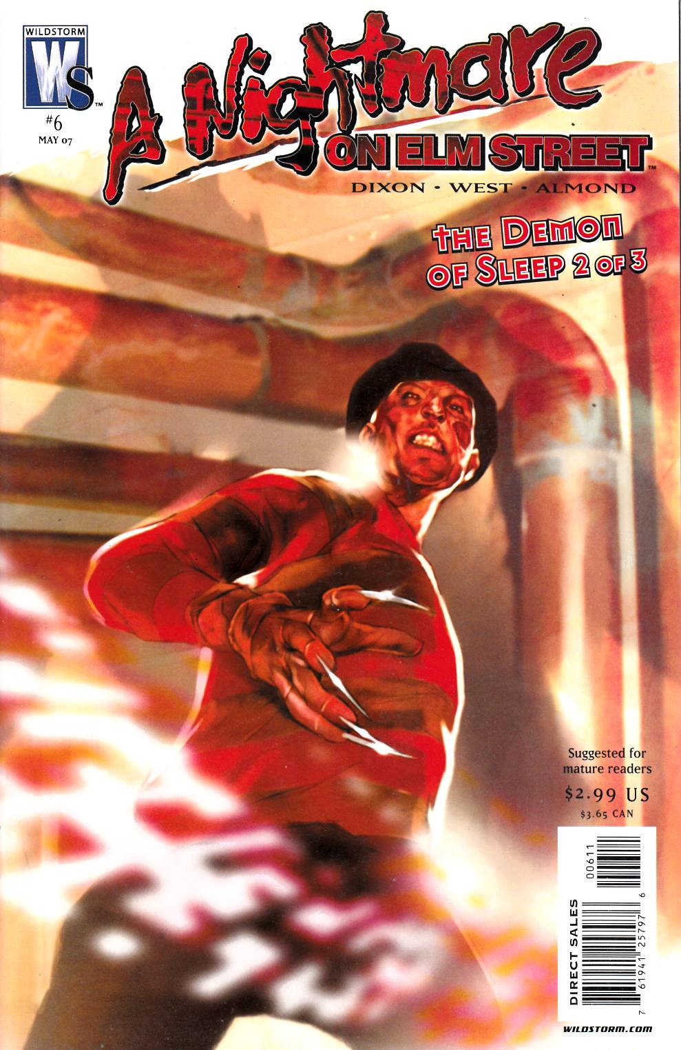 Nightmare on Elm Street #6 Near Mint Minus (9.2) [DC Comic] THUMBNAIL