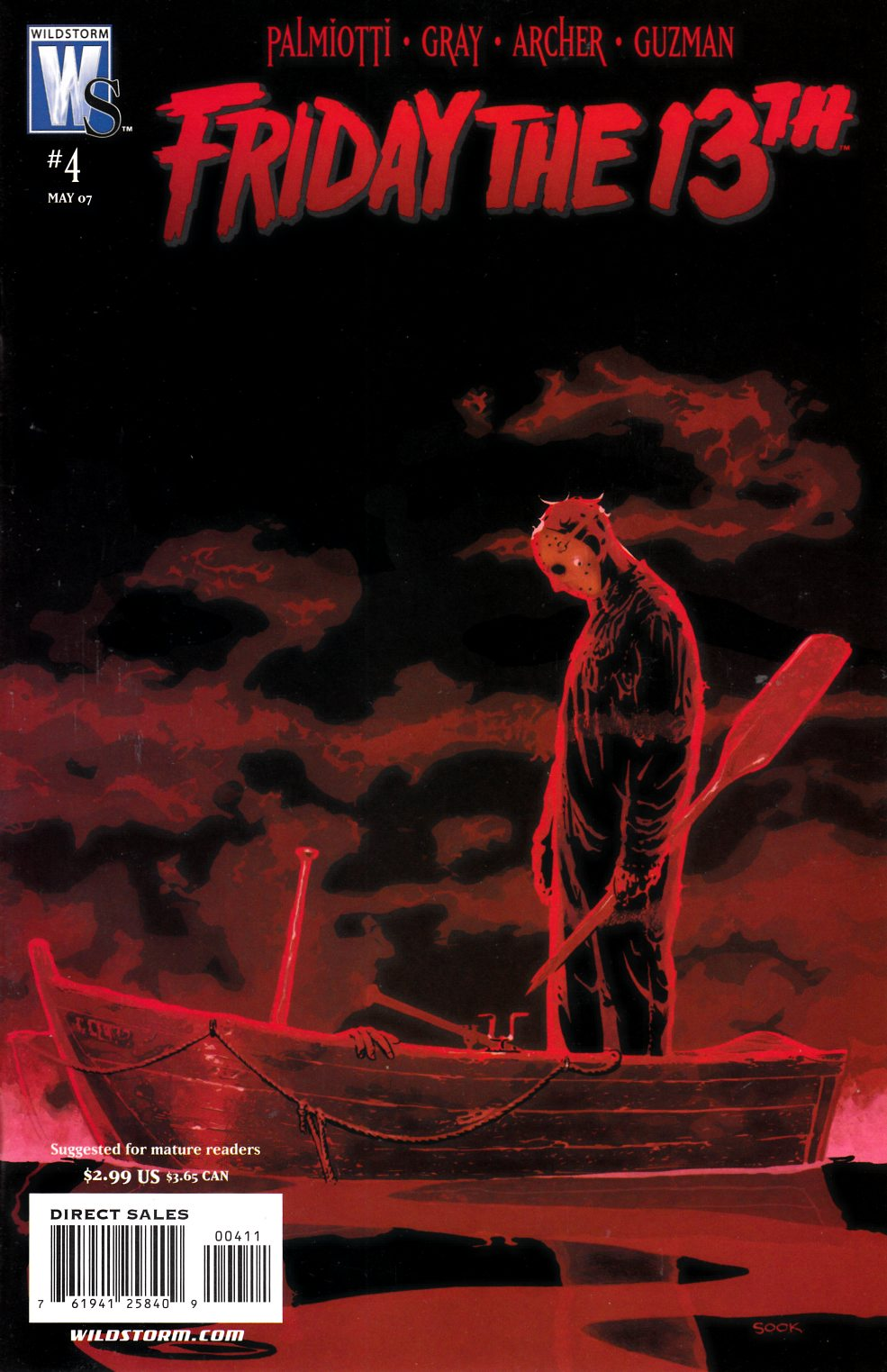 Friday the 13th #4 [DC Comic] THUMBNAIL