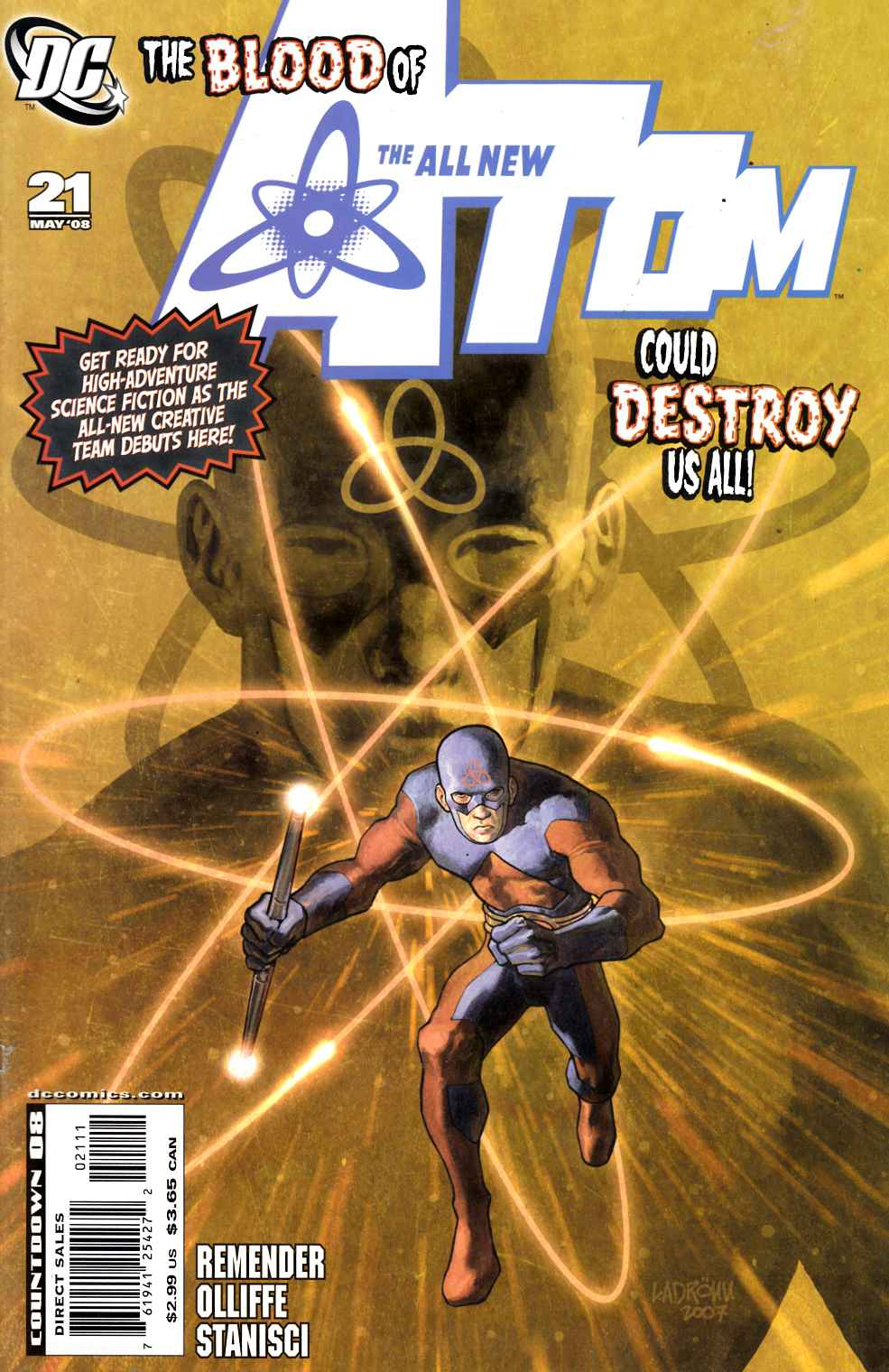 All New Atom #21 Very Fine (8.0) [DC Comic] THUMBNAIL