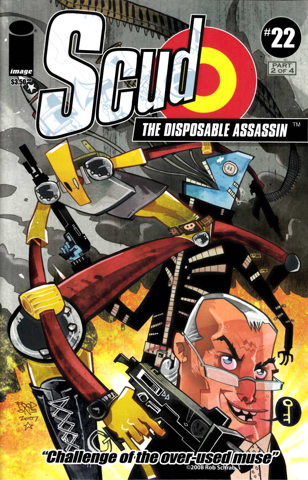 Scud the Disposable Assassin #22 Near Mint (9.4) [Image Comic] THUMBNAIL