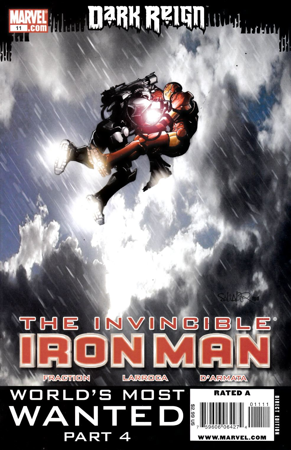 Invincible Iron Man #11 Very Fine (8.0) [Marvel Comic] THUMBNAIL