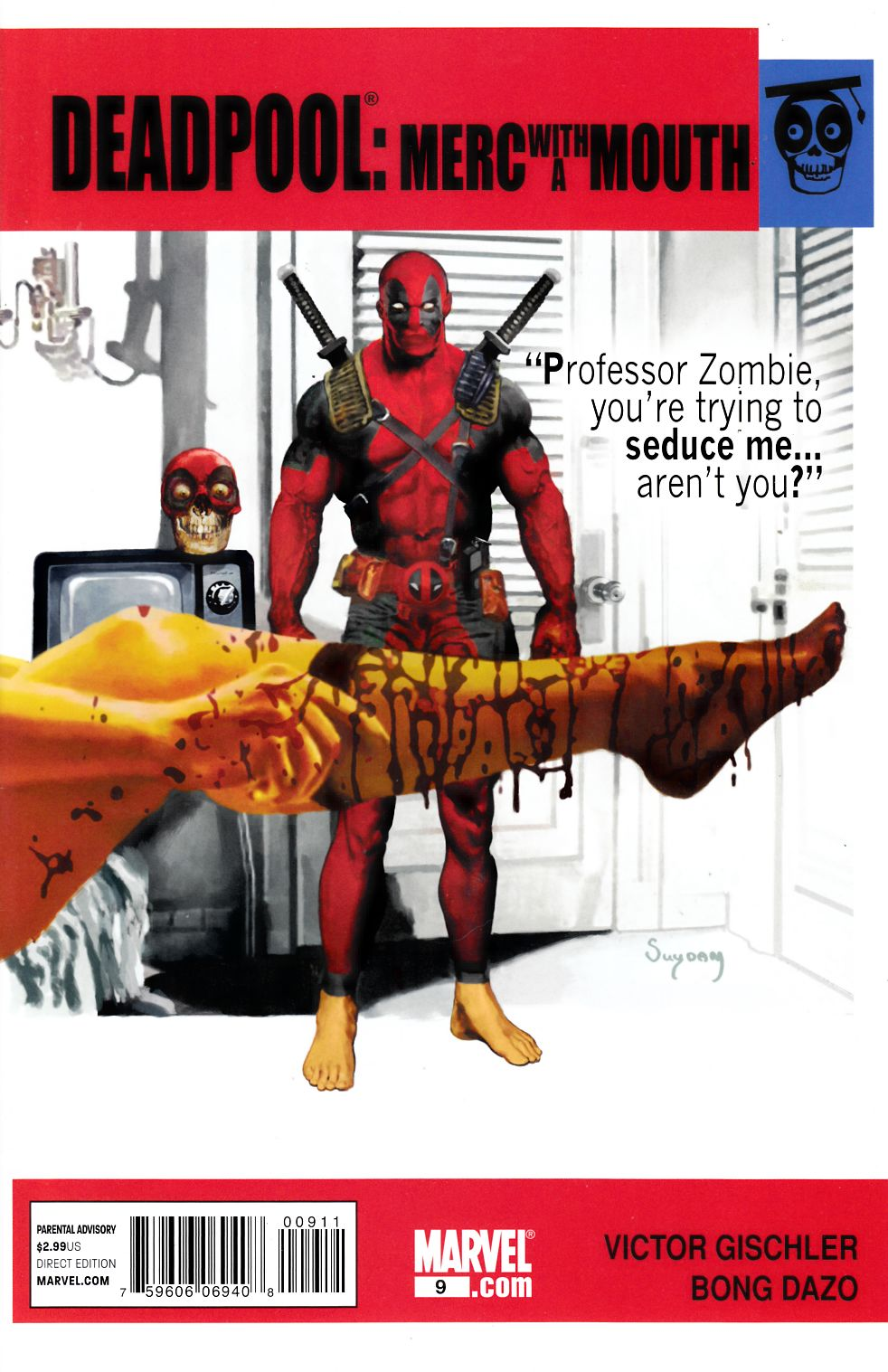 Deadpool Merc with a Mouth #9 Very Fine (8.0) [Marvel Comic] THUMBNAIL
