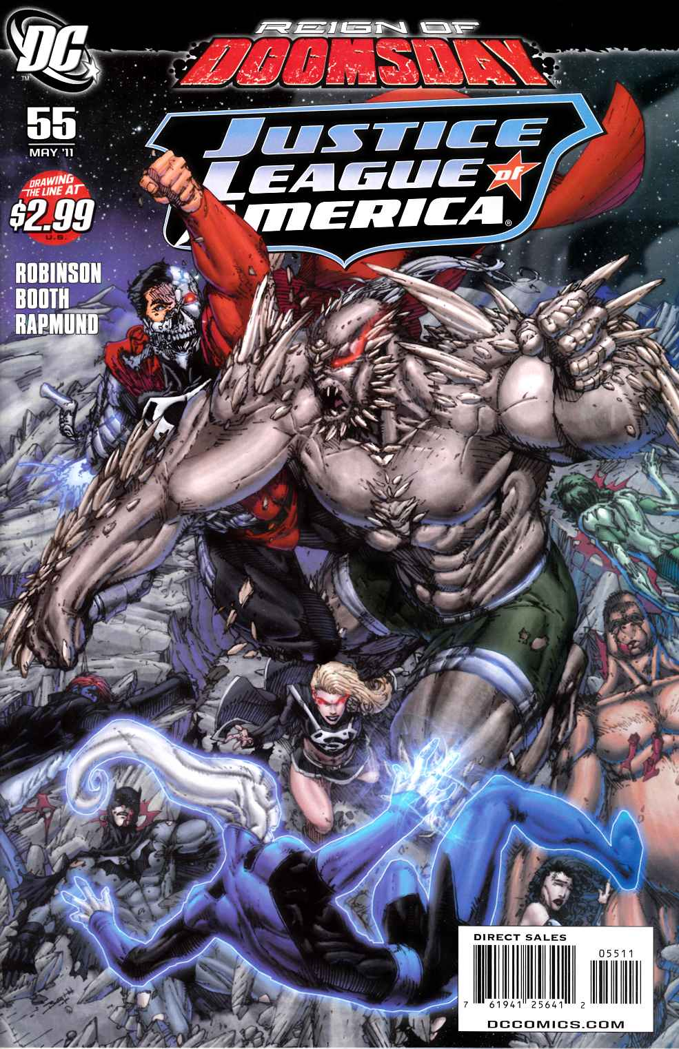 Justice League of America #55 Near Mint (9.4) [DC Comic]_THUMBNAIL