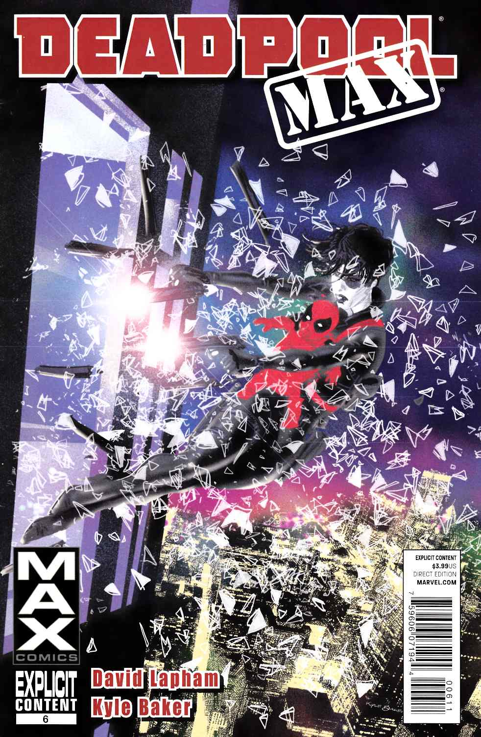 Deadpool Max #6 Very Fine (8.0) [Marvel Comic] THUMBNAIL