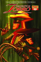 DEATH OF ZORRO #1 (YEATES COVER) LARGE