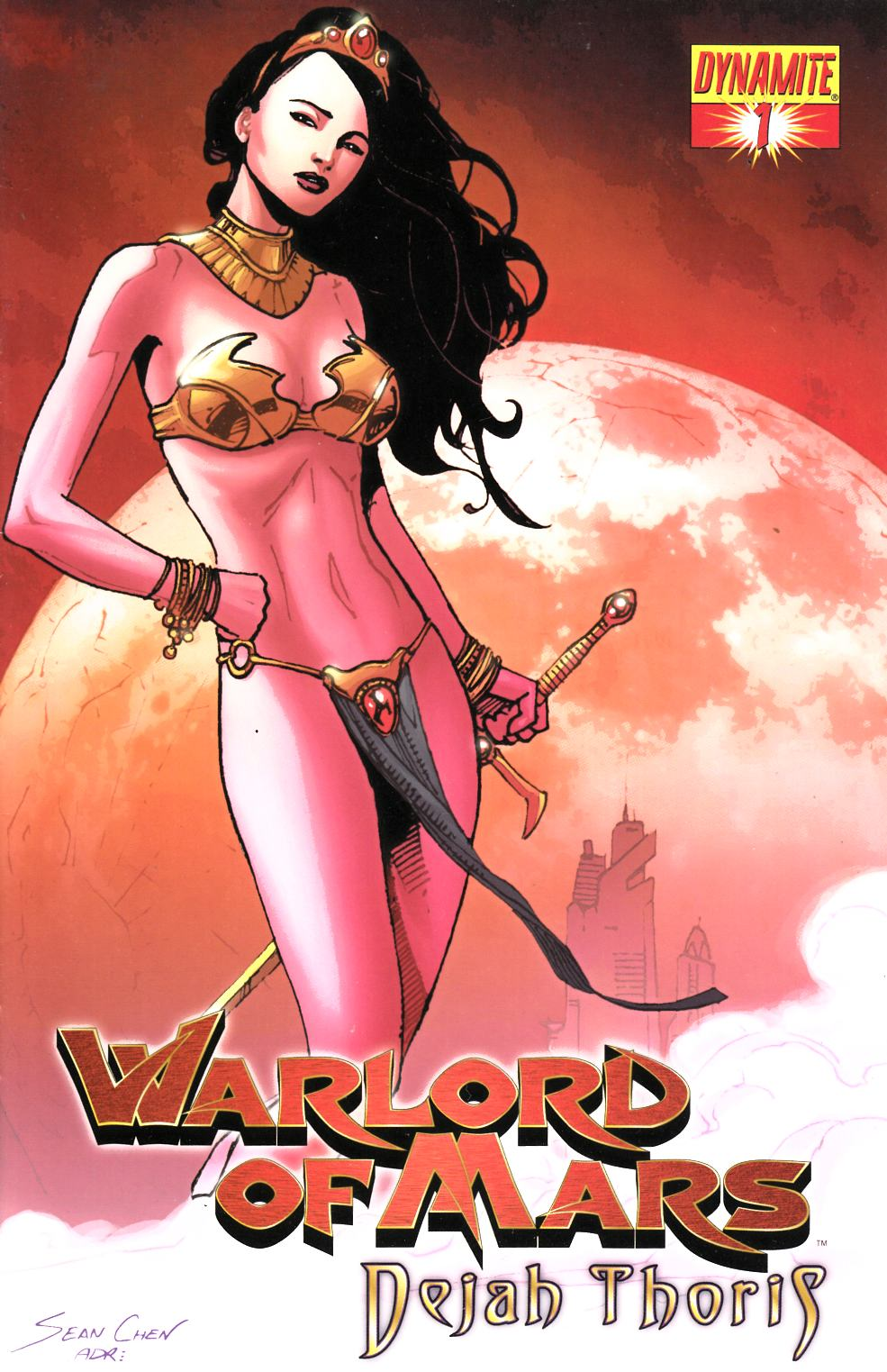 Warlord of Mars Dejah Thoris #1 Chen Cover Near Mint Minus (9.2) [Dynamite Comic] THUMBNAIL