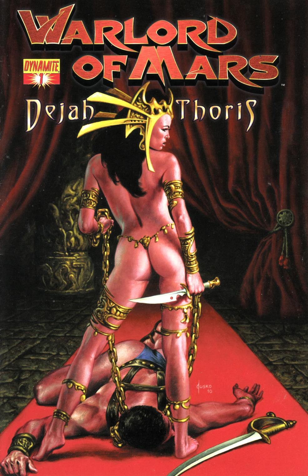 Warlord of Mars Dejah Thoris #1 Jusko Cover Near Mint Minus (9.2) [Dynamite Comic] THUMBNAIL