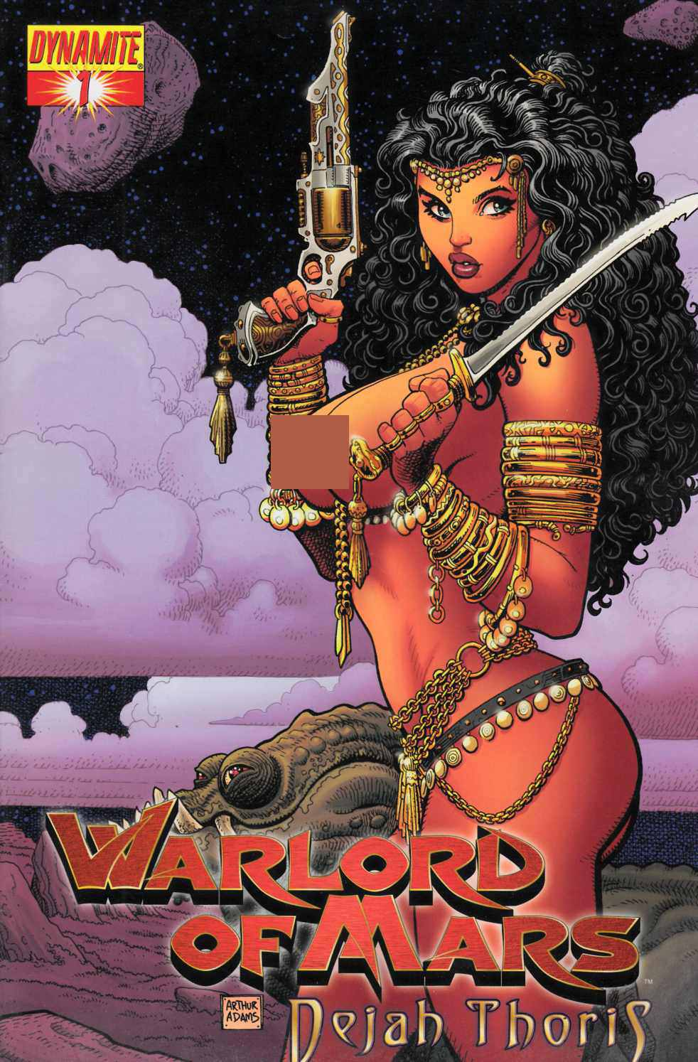 Warlord of Mars Dejah Thoris #1 Adams Nude Incentive Cover- Fine Plus (6.5) [Dynamite Comic] THUMBNAIL