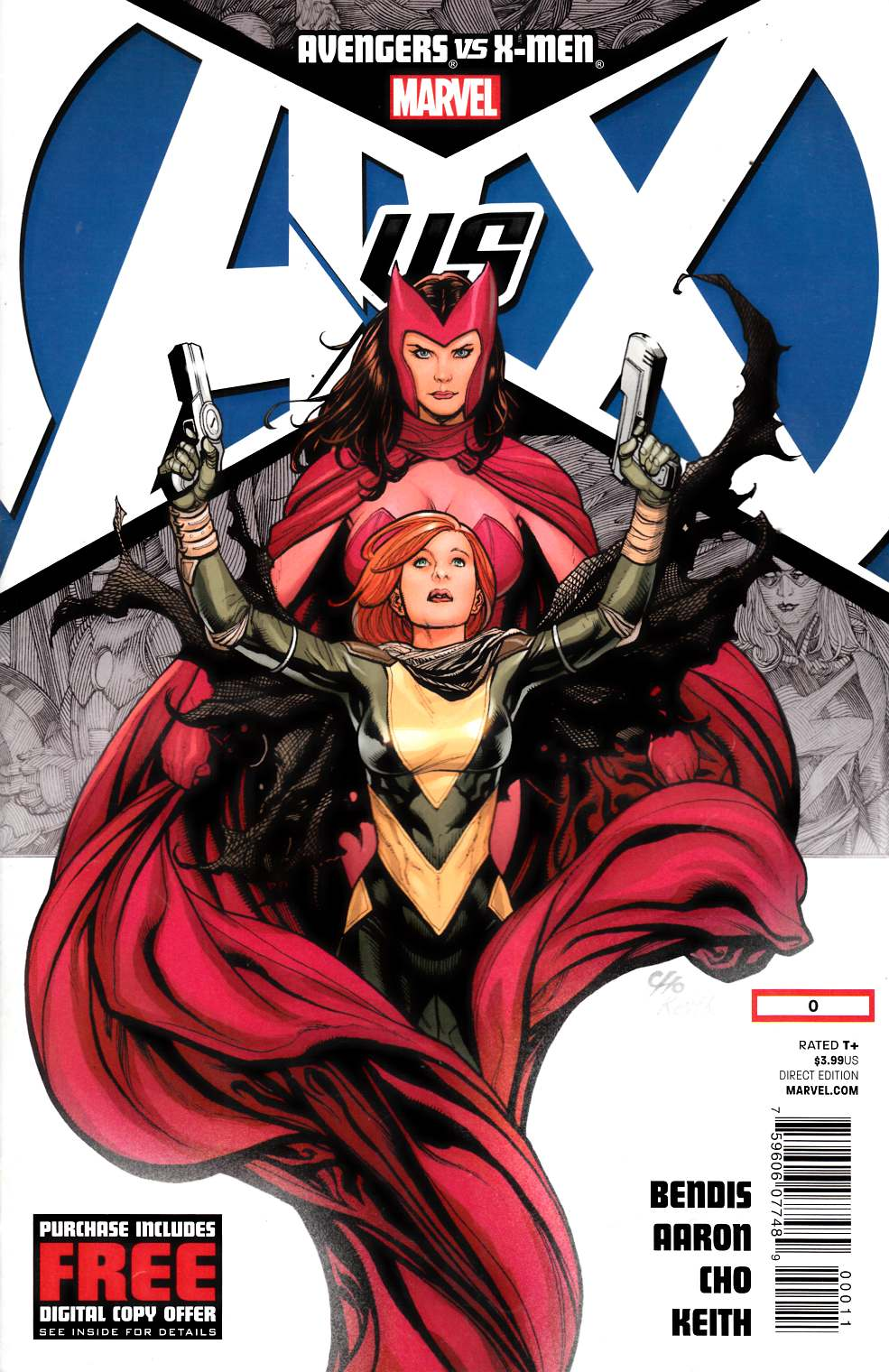 Avengers vs X-Men #0 Fine Plus (6.5) [Marvel Comic]
