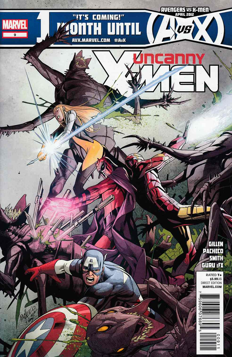 Uncanny X-Men #9 Near Mint (9.4) [Marvel Comic] THUMBNAIL