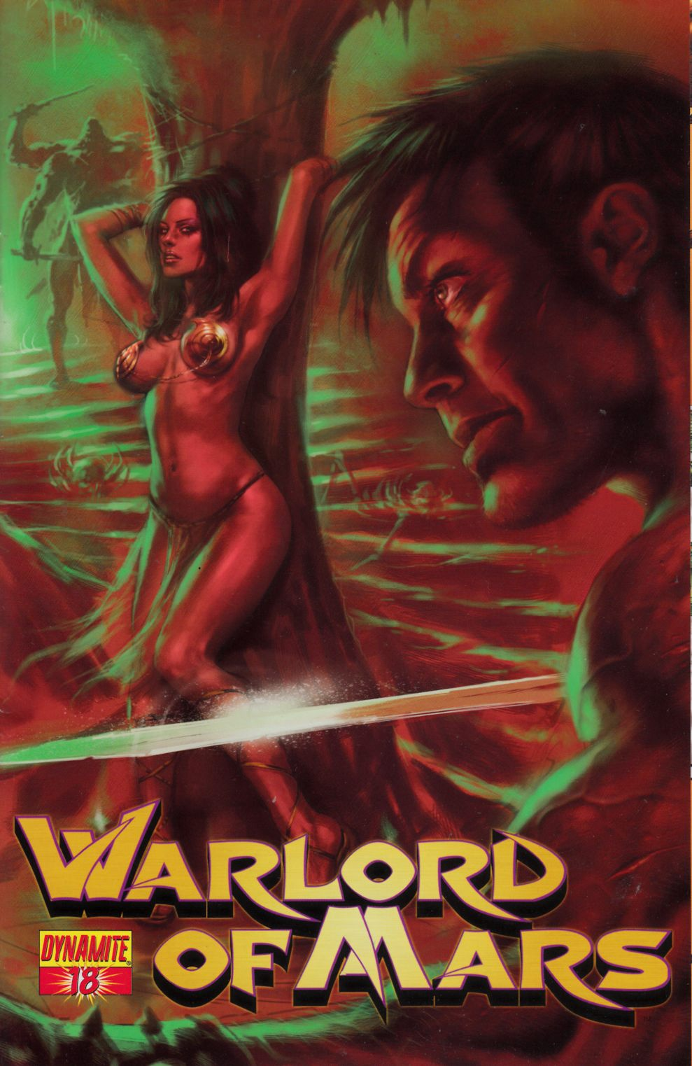 Warlord of Mars #18 Parrillo Cover Very Fine Plus (8.5) [Dynamite Comic] THUMBNAIL