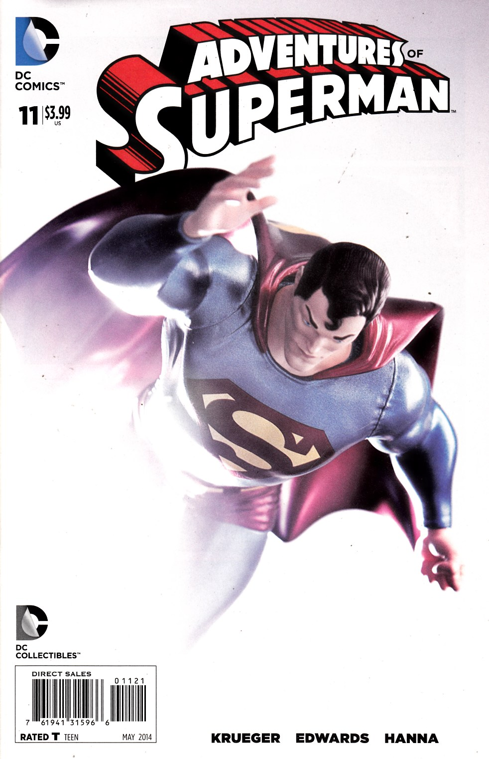 Adventures of Superman #11 Photo Variant Cover Near Mint (9.4) [DC Comic] THUMBNAIL
