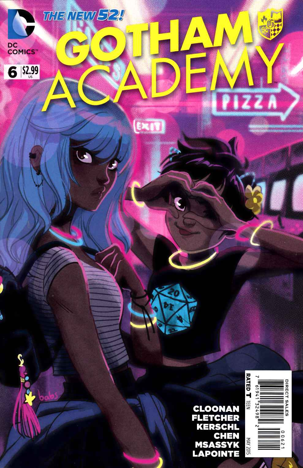 Gotham Academy #6 Tarr Variant Cover- Near Mint (9.4) [DC Comic]_LARGE