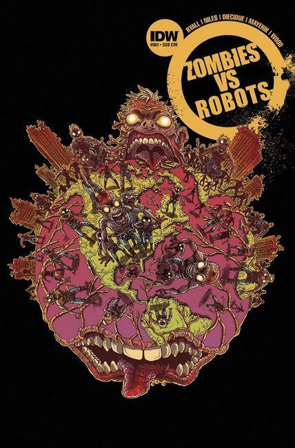 Zombies vs Robots #3 Subscription Cover [IDW Comic]_THUMBNAIL