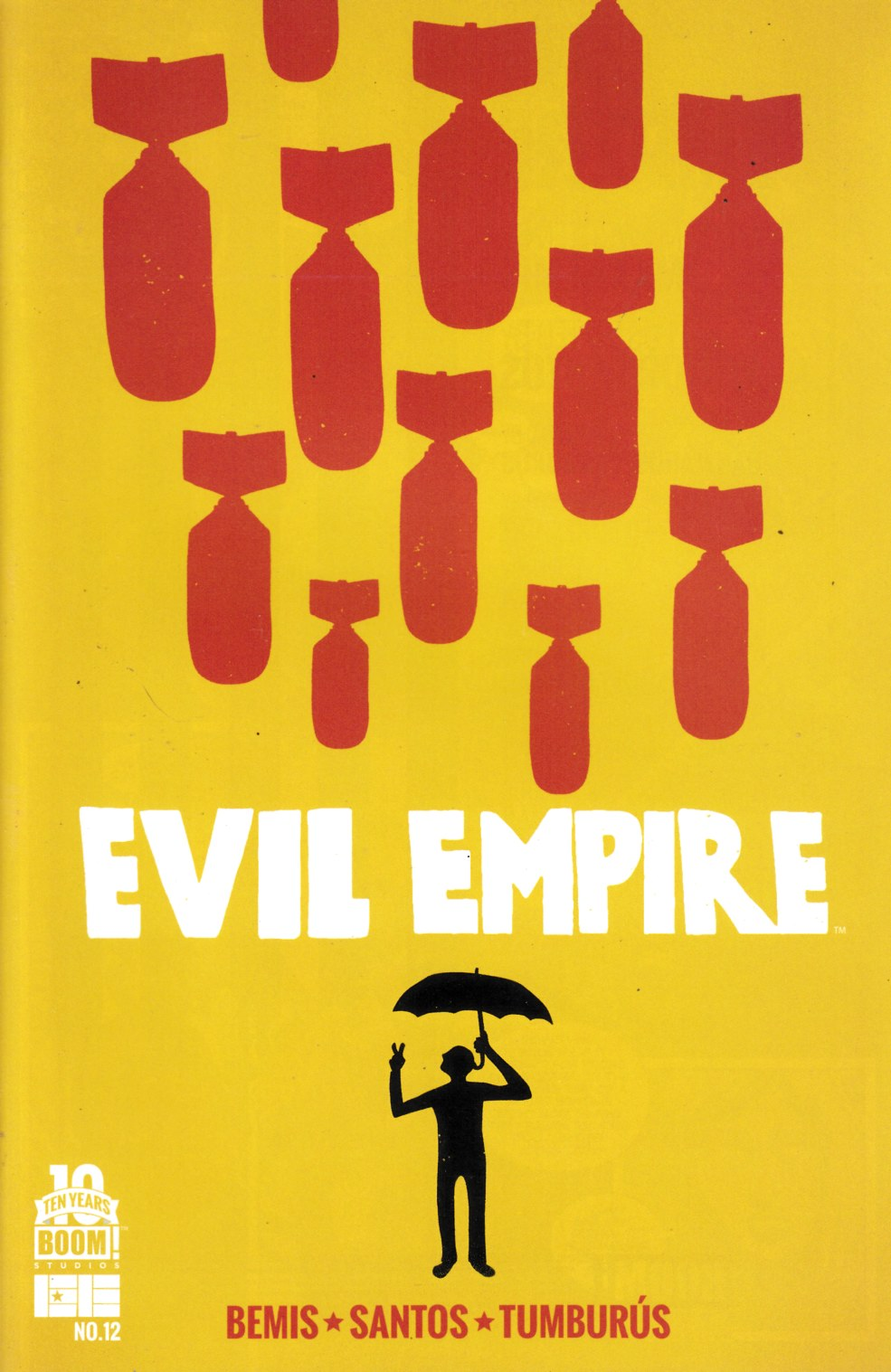 Evil Empire #12 Near Mint (9.4) [Boom Comic] THUMBNAIL