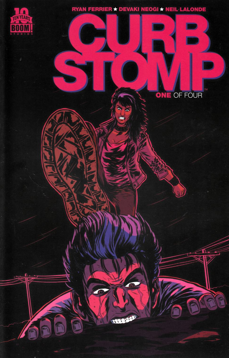 Curb Stomp #1 Second Printing Near Mint (9.4) [Boom Comic] THUMBNAIL