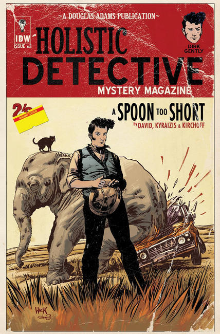 Dirk Gently A Spoon Too Short #2 Subscription Cover [IDW Comic]