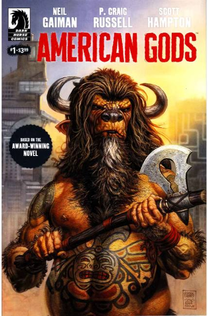 Neil Gaiman American Gods Shadows #1 [Dark Horse Comic] THUMBNAIL