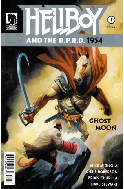 Hellboy and BPRD 1954 Ghost Moon #1 [Dark Horse Comic] THUMBNAIL