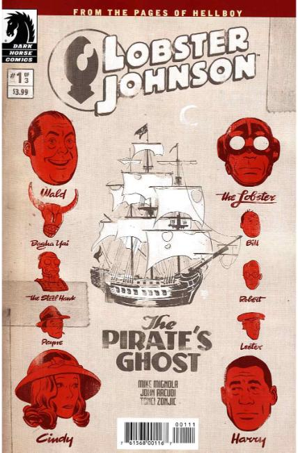 Lobster Johnson Pirates Ghost #1 [Dark Horse Comic] THUMBNAIL