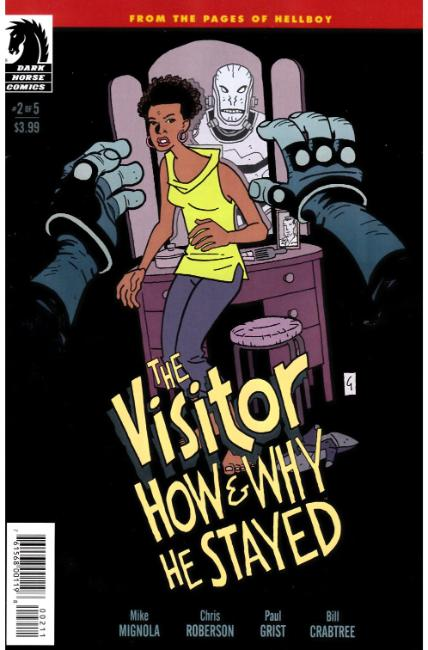 Visitor How and Why He Stayed #2 [Dark Horse Comic]