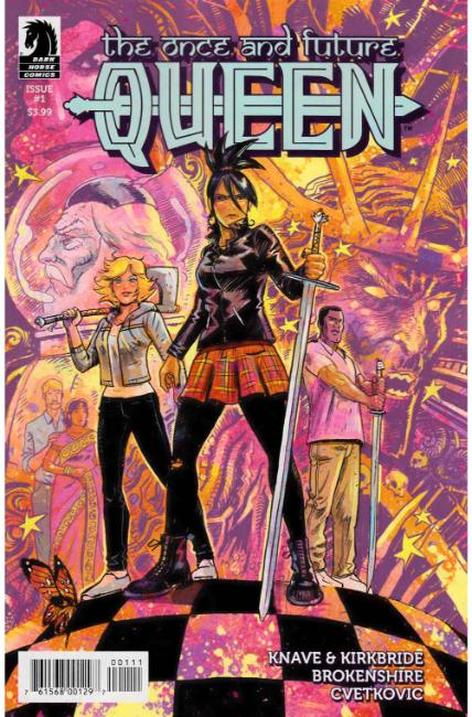 Once and Future Queen #1 [Dark Horse Comic] THUMBNAIL