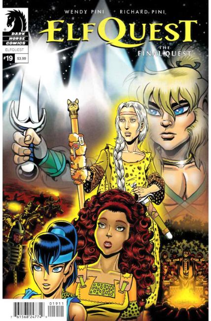 Elfquest Final Quest #19 [Dark Horse Comic]