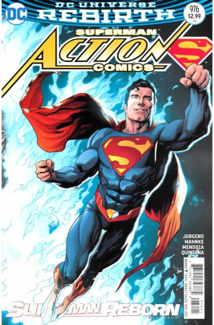 Action Comics #976 Frank Variant Cover [DC Comic]