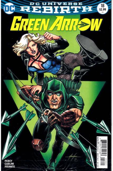 Green Arrow #24 Variant 2016 DC Comics Rebirth