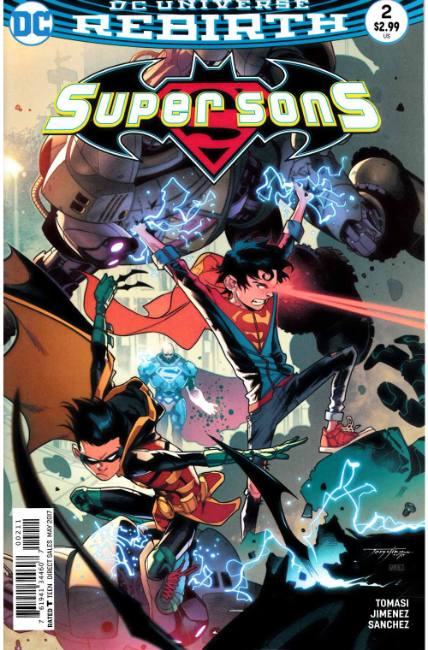 Super Sons #2 [DC Comic]