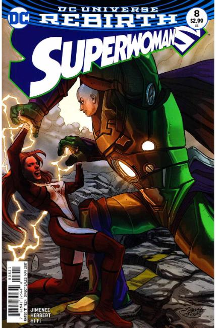 Superwoman #8 Guedes Variant Cover [DC Comic] LARGE