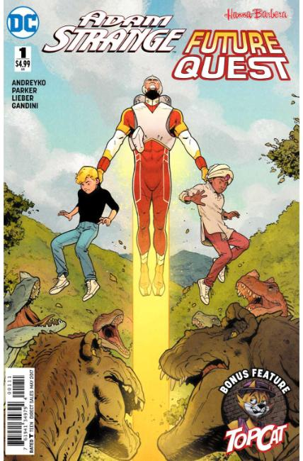 Adam Strange Future Quest Special #1 [DC Comic] THUMBNAIL