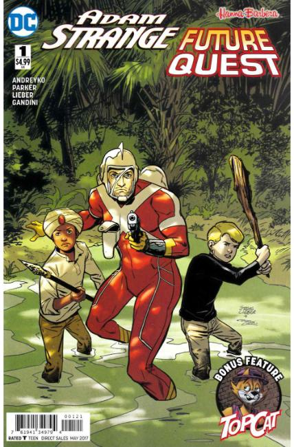 Adam Strange Future Quest Special #1 Lieber Variant Cover [DC Comic] LARGE