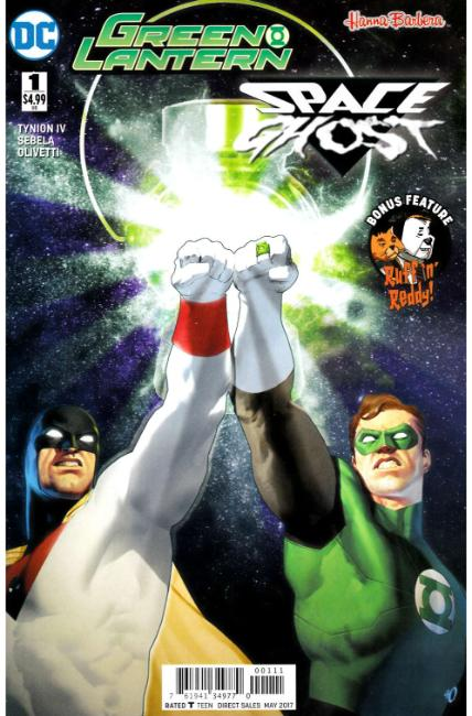 Green Lantern Space Ghost Special #1 [DC Comic] THUMBNAIL