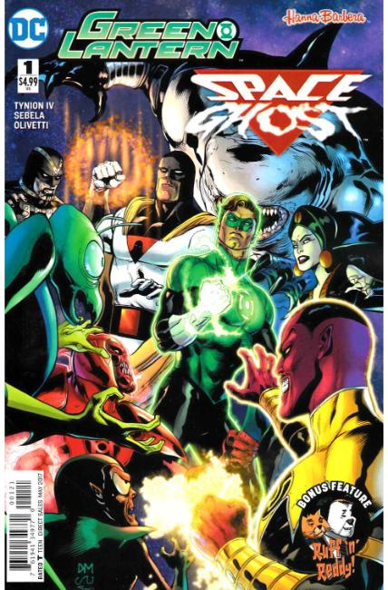 Green Lantern Space Ghost Special #1 Mahnke Variant Cover [DC Comic] THUMBNAIL