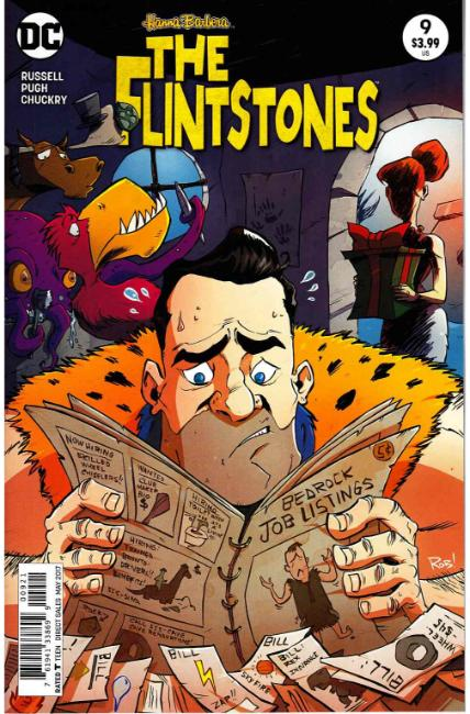 Flintstones #9 Guillory Variant Cover [DC Comic] LARGE