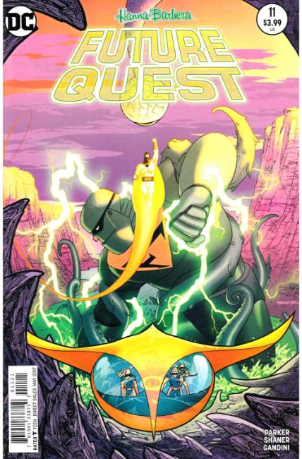 Future Quest #11 Sook Variant Cover [DC Comic] LARGE