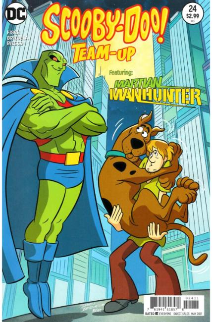 Scooby Doo Team Up #24 [DC Comic] THUMBNAIL