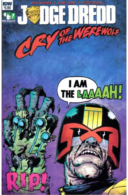 Judge Dredd Cry of the Werewolf (One Shot) [IDW Comic]