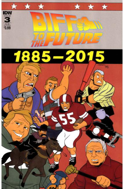 Back to the Future Biff to the Future #3 Subscription Cover [IDW Comic]